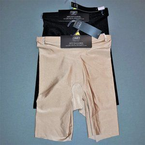 Two Jones NY NWT MED LARGE Shiny Thigh Slimmer